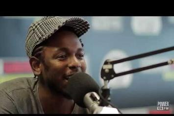 Kendrick Lamar Interview On Power 106
