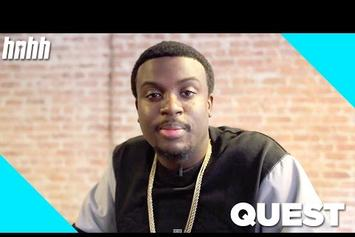 QuESt Talks About Come Up & Possibility Of Collabing With Logic