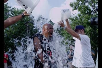 Tech N9ne Takes The ALS Ice Bucket Challenge