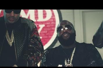 "Rick Ross Feat. French Montana ""What A Shame"" Video"