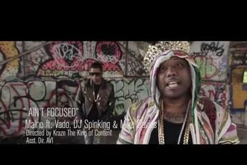 """Maino Feat. DJ Spinking, Vado & Mike Daves """"Ain't Focused"""" Video"""