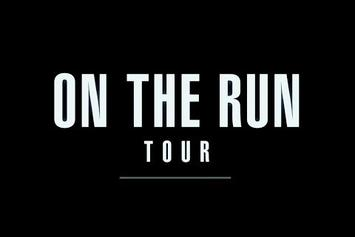"""Jay Z & Beyonce """"On The Run"""" Tour Rehearsals"""