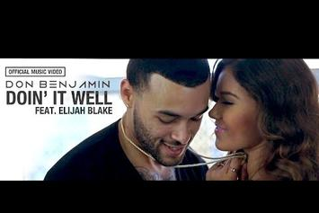 "Don Benjamin Feat. Elijah Blake ""Doin' It Well"" Video"