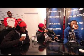 Audio Push & Loaded Lux Freestyle On Sway In The Morning