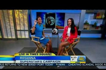 Rihanna Appears On Good Morning America