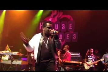 """Diddy Joins Faith Evans For """"I'll Be Missing You"""" In L.A."""