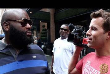 """Rick Ross """"Takes Over TMZ"""" Video"""