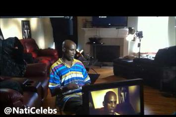 "DMX ""Raps The First Rhymes He Ever Wrote"" Video"