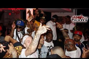 """Birdman Feat. Lil Wayne, Juvenile & More """"""""Rich Gang"""" Album Release Party In NYC"""" Video"""