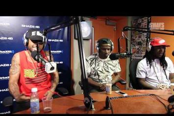 "Dave East Feat. Frenchie & 360 ""Freestyle On Sway In The Morning"" Video"