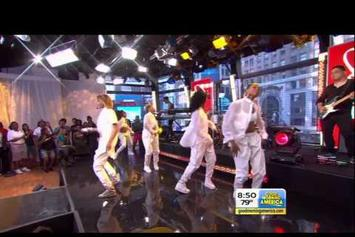 "Ciara ""I'm Out (Live On ""Good Morning America"")"" Video"