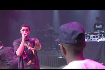 "J. Cole ""Dollar & A Dream Tour Vlog (Houston)"" Video"