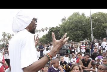 """Snoop Dogg """"Coaches @ Family Fun Day In L.A."""" Video"""