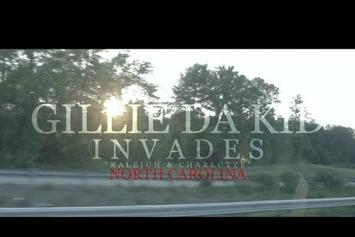 "Gillie Da Kid ""Invades NC (Vlog) (Part 1)"" Video"