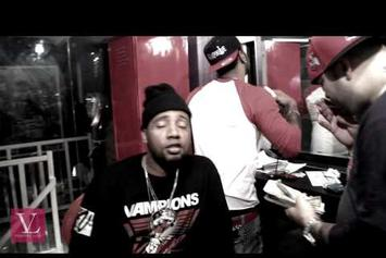 "Jim Jones ""Powder Trip (Freestyle)"" Video"