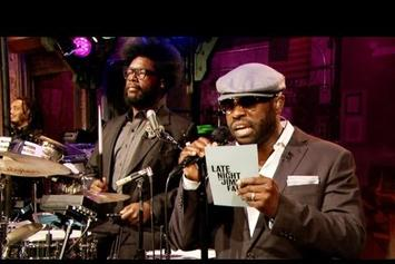 "The Roots ""Freestyle On Jimmy Fallon"" Video"