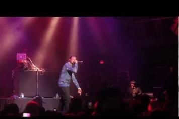 """Meek Mill """"Started From The Bottom (Live)"""" Video"""