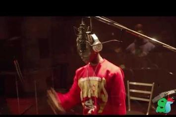 """Meek Mill Feat. Lil Durk & Lil Snupe """"In The Studio"""" Video"""