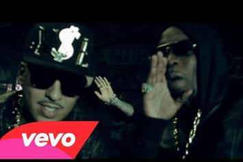 """French Montana Feat. Diddy, Machine Gun Kelly, Red Cafe & King Los """"Ocho Cinco"""" Video"""