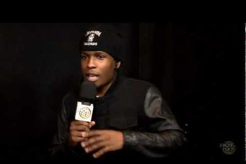 "ASAP Rocky ""Talks On His Style Of Music, Rihanna & More"" Video"