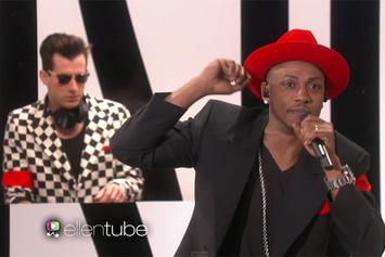 "Mark Ronson & Mystikal Perform ""Feel Right"" On Ellen"