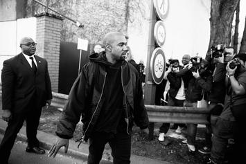 Kanye West Served Legal Papers Outside Of LAX