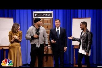 Big Sean & LL Cool J Play Pictionary With Jimmy Fallon