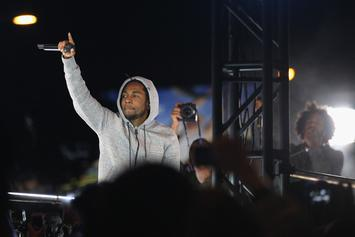 "Kendrick Lamar Brought A Fan Up To Rap ""M.A.A.D. City"" And She Killed It"