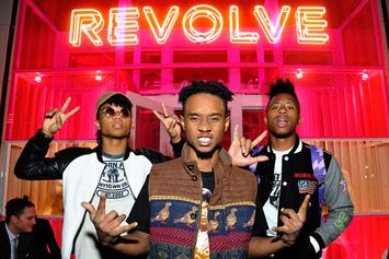 Rae Sremmurd's Slim Jxmmi Injures Leg At Governor's Ball