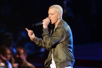 Take A Look At Eminem's Handwritten Letter & Drawing To Tupac's Mom