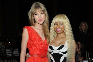 "Taylor Swift Accuses Nicki Minaj Of ""Pitting Women Against Each Other"" In VMA Tweets"