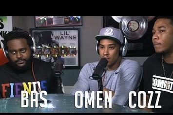 Bas, Cozz & Omen On Hot 97