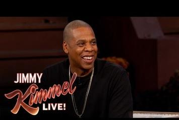 Watch Jay Z's Interview and Performance On Jimmy Kimmel Live