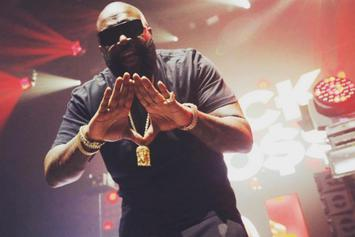 Rick Ross Is Off House Arrest