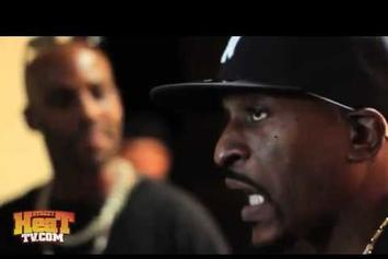 DMX Gets Incredibly Hype Meeting Rakim For The First Time