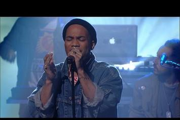 Anderson .Paak Performs On Stephen Colbert