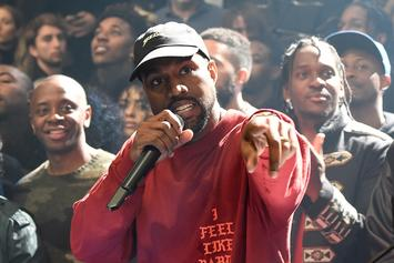 Kanye West Unveils New Video Game At Madison Square Garden