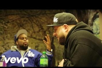 "Statik Selektah & KXNG Crooked ""I Hear Voices"" Video"