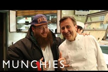 """Action Bronson Tries Pressed Duck In NYC For """"Fuck That's Delicious"""""""
