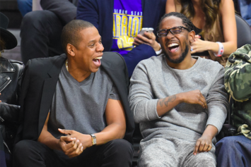 Jay Z Rocks Yeezy Boost 350s, Kendrick Reps Reebok At NBA Game