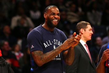 LeBron James Thanks Kendrick Lamar For His Musical Inspiration