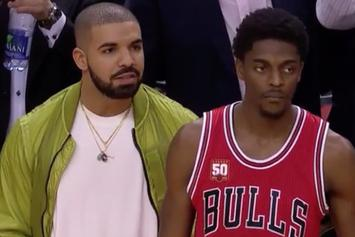 Drake Help Causes 5-Second Call Against Chicago Bulls
