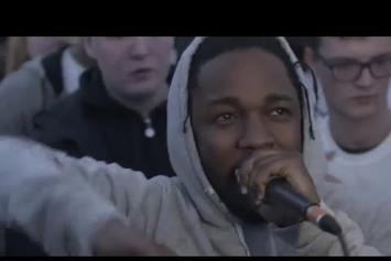 Kendrick Lamar Takes Over An Amateur Cypher In The UK