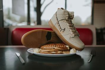 "Feed Your Hunger With These Nike SB ""Chicken & Waffle"" Dunks"