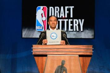 The Philadelphia Sixers Receive The #1 Pick At The NBA Draft Lottery