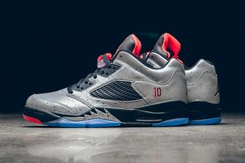 "Official Images Of The Upcoming ""Neymar"" Air Jordan 5 Low"