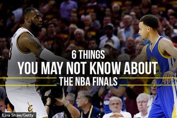 6 Things You May Not Know About The 2016 NBA Finals