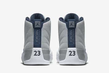 """Official Images Of The New """"UNC"""" Air Jordan 12 Revealed"""