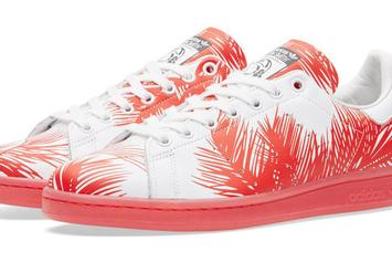 """Pharrell x BBC x Adidas Stan Smith """"Palm Tree Pack"""" Arrives This Weekend"""