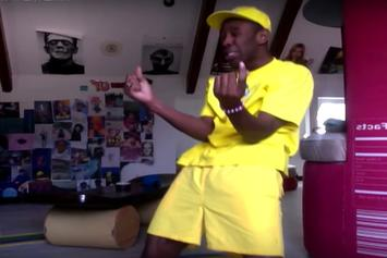 "Tyler, The Creator Dances Around To His Own Remix Of Zayn's ""Pillowtalk"""